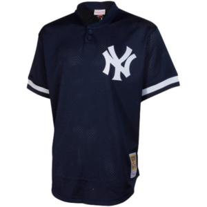 Bernie Williams New York Yankees Mitchell & Ness Batting Practice Jersey