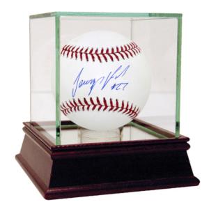 JEURYS FAMILIA AUTOGRAPHED MLB BASEBALL(MLB AUTHENTICATED)