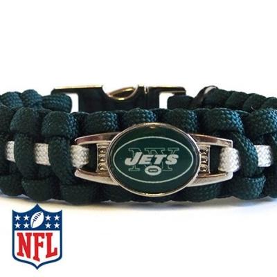 OFFICIALLY LICENSED NFL NEW YORK JETS PARACORD BRACELET