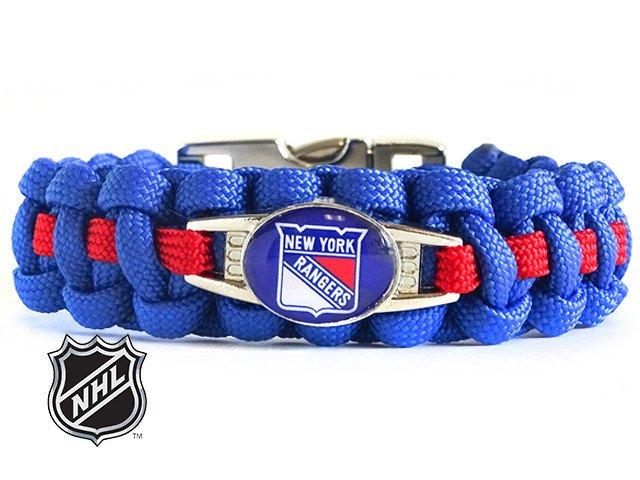 OFFICIALLY LICENSED NHL NEW YORK RANGERS PARACORD BRACELET - NY ... 4b3b3c29f