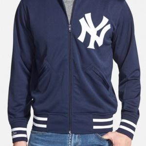 Authentic BP – New York Yankees' Double Knit Baseball Jacket–