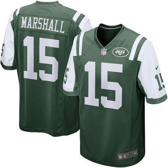 Brandon Marshall New York Jets Green Game Jersey- NY Sports Shop 9ea92a3a2
