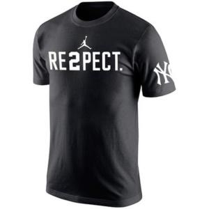Derek Jeter New York Yankees Jordan RE2PECT T-Shirt – Black-