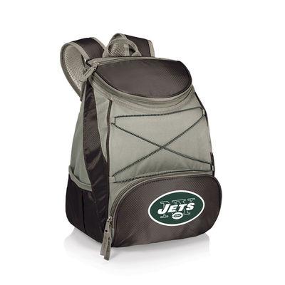 New York Jets PTX Backpack Cooler – Black-