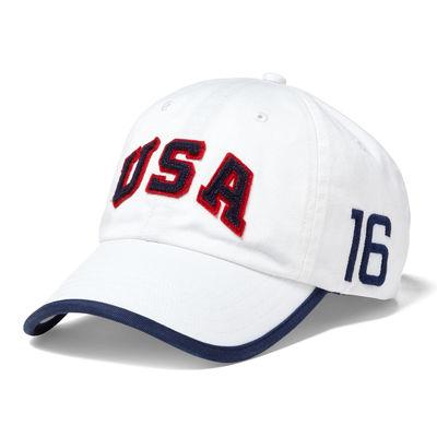 Team USA Polo Ralph Lauren 2016 Olympics Cross Sport Adjustable Hat – White 9b67cc93d94