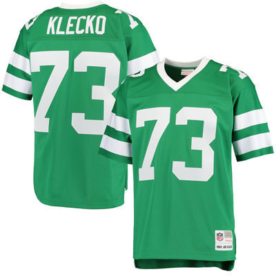 Joe Klecko New York Jets Mitchell & Ness Retired Player Replica Jersey – Green