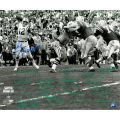 1969 New York Jets Team Signed Super Bowl III Joe Namath ,Namath Signed