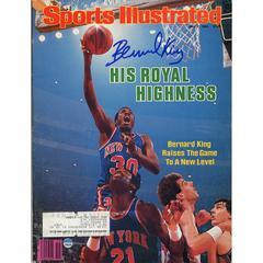 Bernard King Signed 5/7/84 Sports Illustrated Magazine