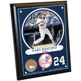 New York Yankees Gary Sanchez 8×10 Plaque