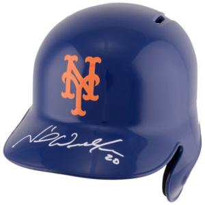 Autographed New York Mets Neil Walker Fanatics Authentic Replica Batting Helmet