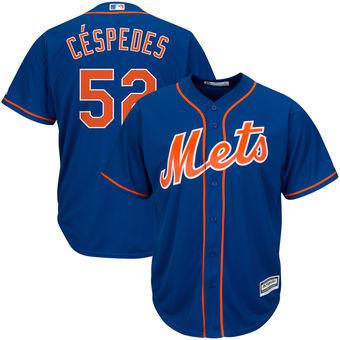 Men's New York Mets Yoenis Cespedes  Royal Alternate Cool Base Player Jersey
