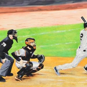Captains Final Hit – Yankee Stadium
