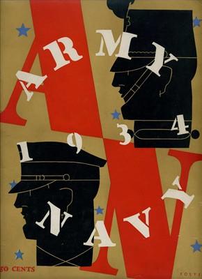 1934,ARMY-NAVY GAME PROGRAM