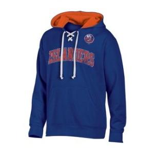 NEW YORK ISLANDERS Lace-Up Pullover Hoodie