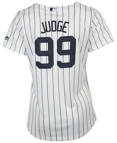 897daa04934 Majestic Women s Aaron Judge New York Yankees Cool Base Player Replica  Jersey
