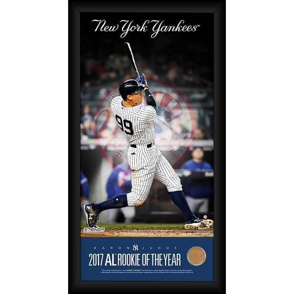 Aaron Judge New York Yankees 2017 AL Rookie Of The Year