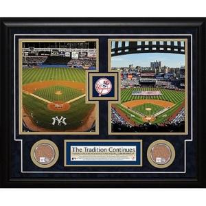 Steiner Sports 2008 Final Game/2009 Opening Day Yankee Stadium