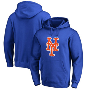 New York Mets Primary Logo Pullover Hoodie