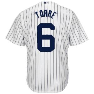 NY Yankees Replica Joe Torre Home Jersey