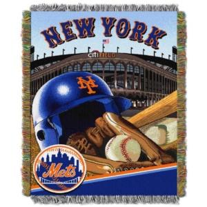 NEW YORK METS TAPESTRY