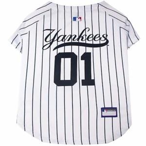 Pets First New York Yankees Jersey, Medium