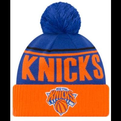 NEW YORK KNICKS Men's Available Colors: 5 NEW ERA NBA CHEER KNIT