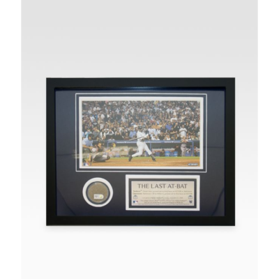 Derek Jeter Last At-Bat At Yankee Stadium Dirt Collage