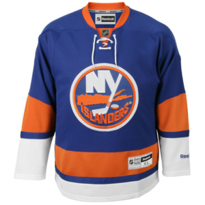 Men's New York Islanders Reebok Royal Premier Home Jersey