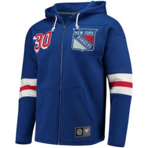 Henrik Lundqvist Royal New York Rangers Breakaway Full-Zip Hoodie