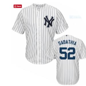 C.C. Sabathia jersey