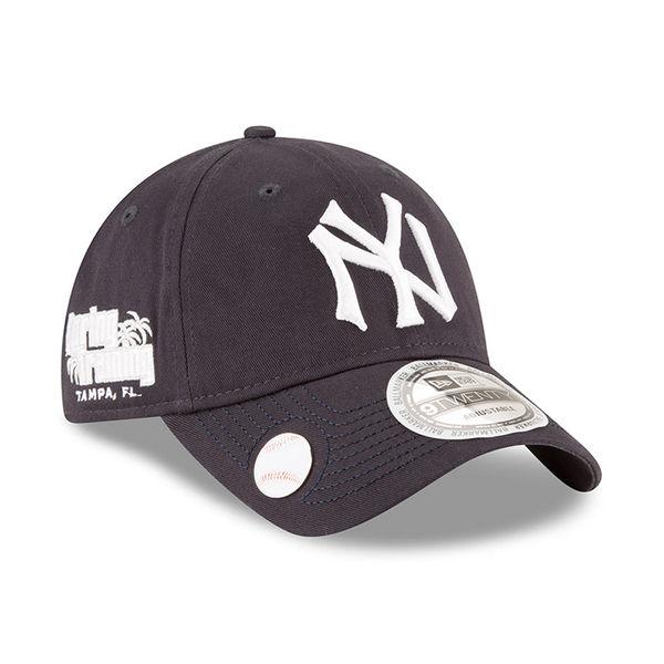 watch a19e4 4523c Men s New York Yankees New Era Navy 2018 Spring Training Ballmark 9TWENTY  Adjustable Hat