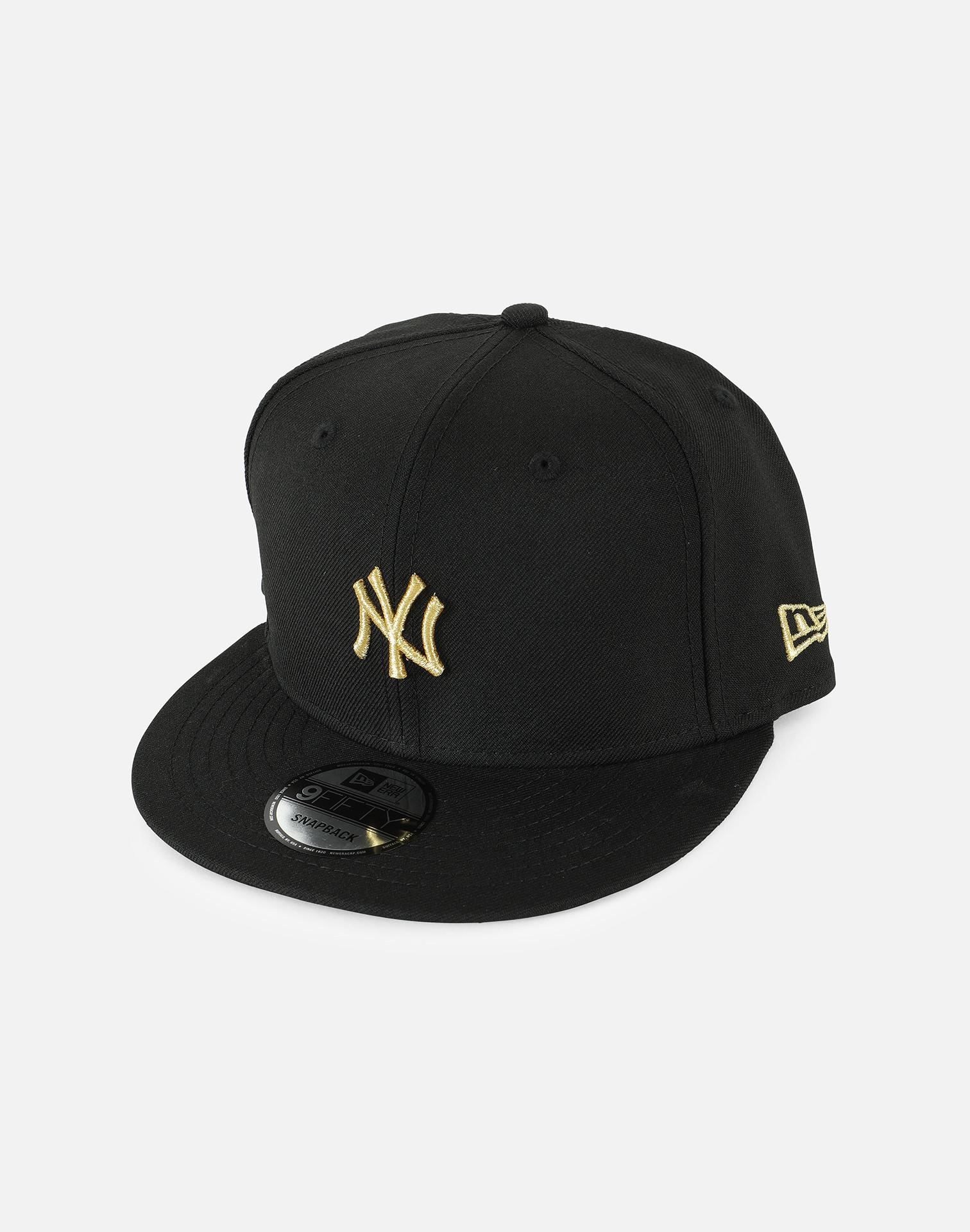 MLB NEW YORK YANKEES GOLD BADGE SNAPBACK HAT - NY Sports Shop 00a8a5a3a85e