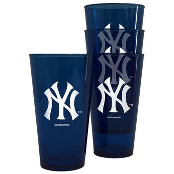 NEW YORK YANKEES PLASTIC CUPS