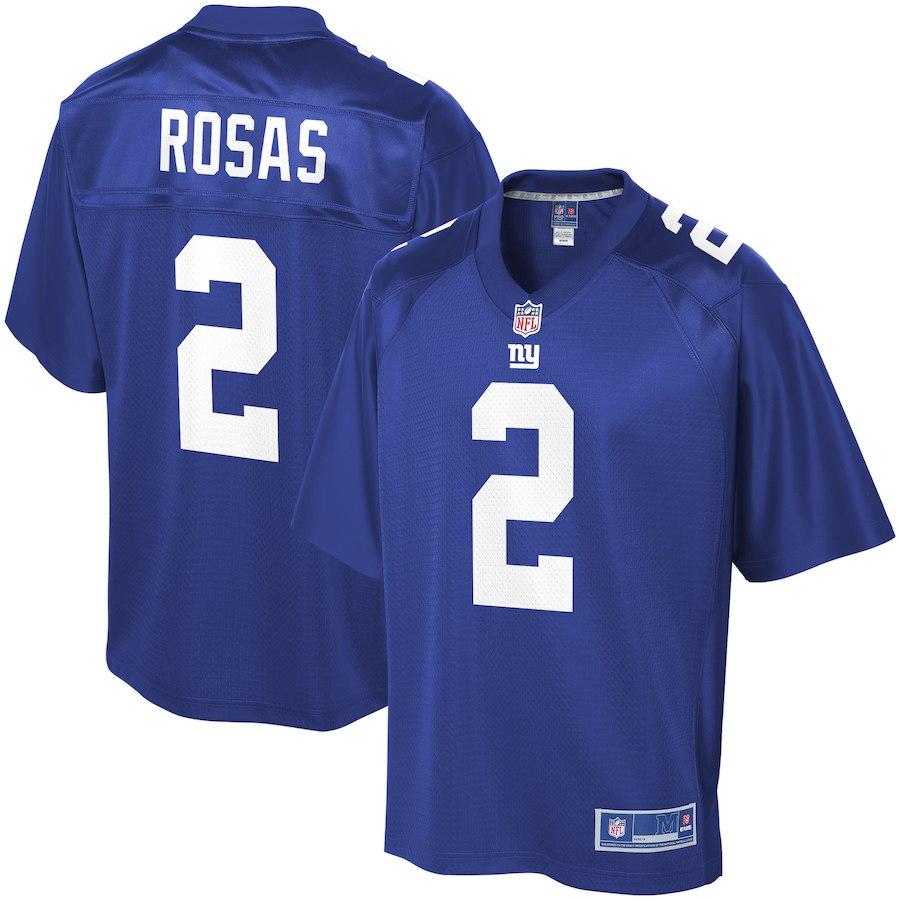 huge selection of c44fa 2c1e7 Aldrick Rosas New York Giants NFL Pro Line Team Color Player Jersey