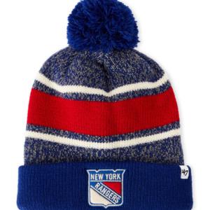 New York Rangers Pom-Pom Hat- 47 BRAND 73b5d72ff