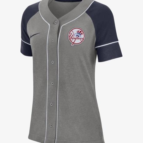 Nike Dri-FIT (MLB Yankees)-Women's Baseball Jersey