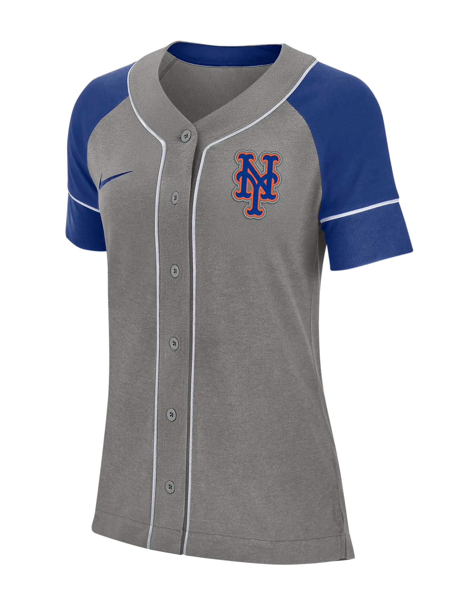 Nike Dri-FIT (MLB Mets)-Women's Baseball Jersey