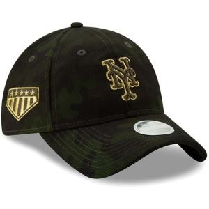 NY METS WOMEN CAMO CAP