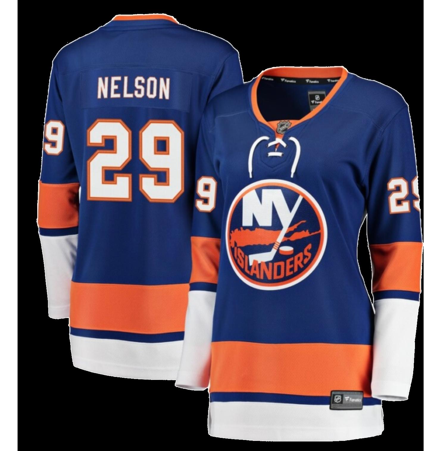 Brock Nelson New York Islanders Fanatics Branded Women's Breakaway Player Jersey