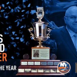 Trotz Wins Jack Adams Award!