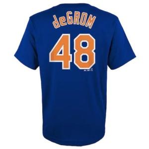 Boys New York Mets Degrom Tee